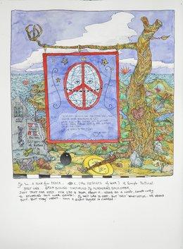 , 'A Peace Plan,' 2010, Hosfelt Gallery