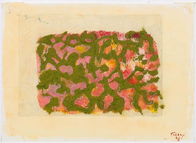 Mark Tobey, 'Untitled', 1968, Drawing, Collage or other Work on Paper, Tempera, watercolour and pencil on wove paper, Koller Auctions