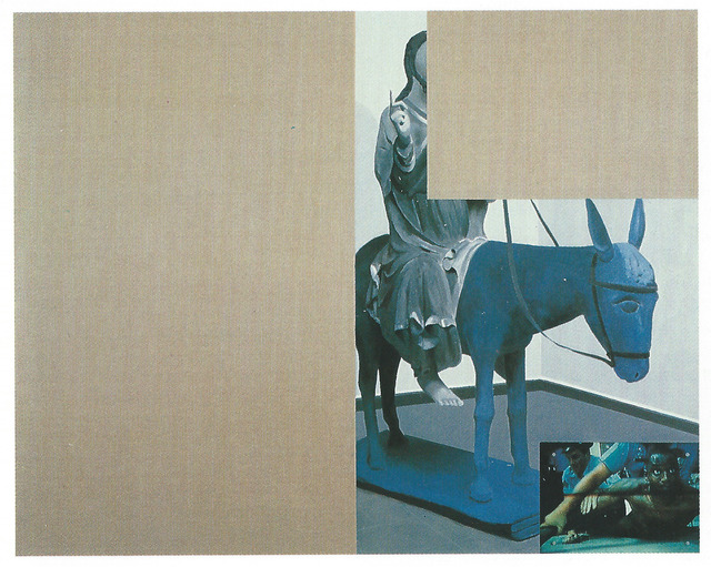 , 'Untitled (blue donkey),' 1994, Vilma Gold