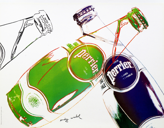Andy Warhol, 'Perrier (White)', 1983, Roseberys