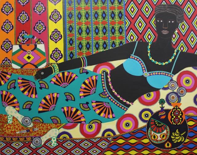 , 'Titi,' 2019, Rebecca Hossack Art Gallery