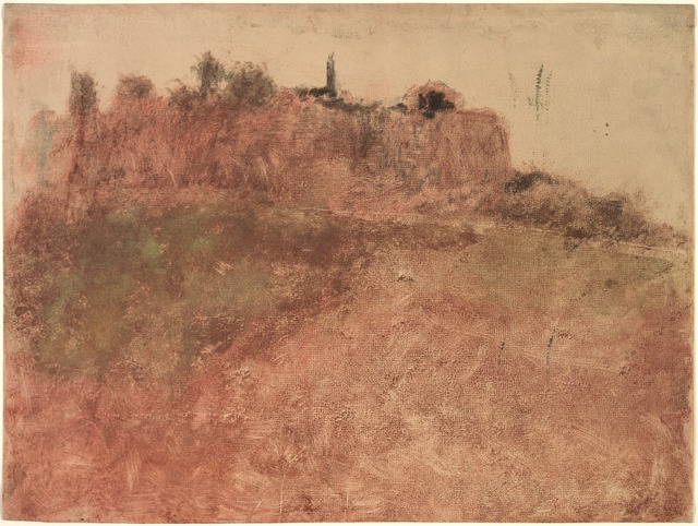 Edgar Degas, 'Estérel Village', c. 1890, Print, Monotype, Cleveland Museum of Art