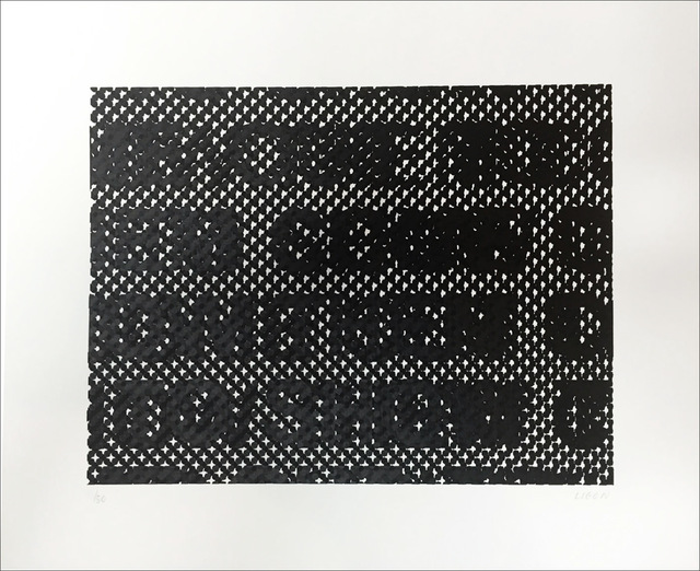 Glenn Ligon, 'Detail', 2014, Print, 3 colour screenprint on Coventry Rag, artrepublic
