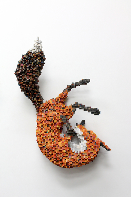 Shawn Smith, 'Falling Fox', 2015, Mark Hachem Gallery