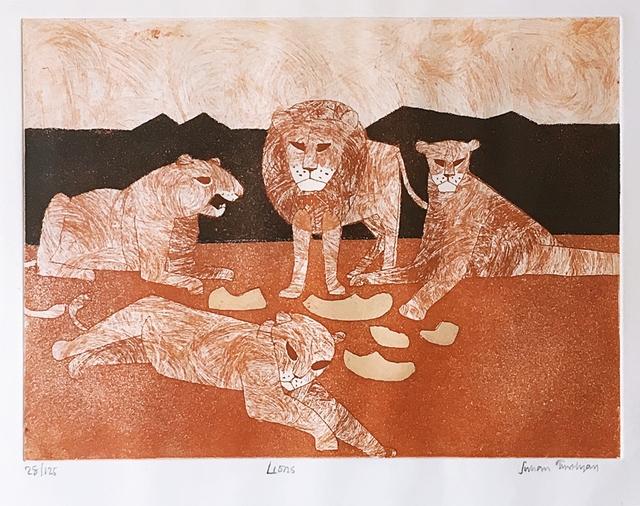 , 'Lions,' 1966-1967, Alpha 137 Gallery