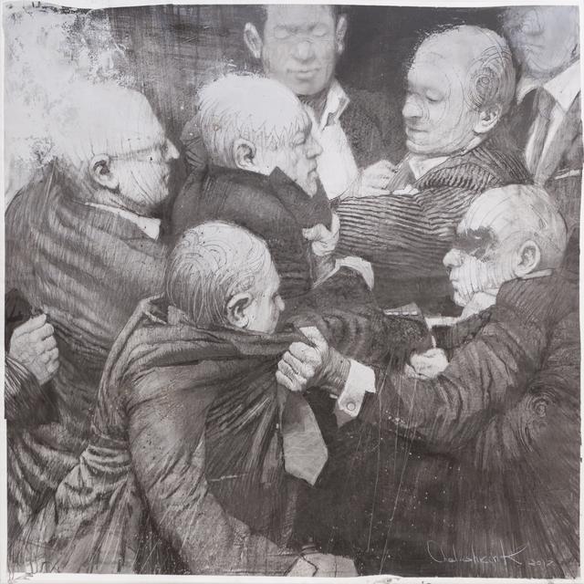 , 'Fight 3,' 2017, NK Gallery
