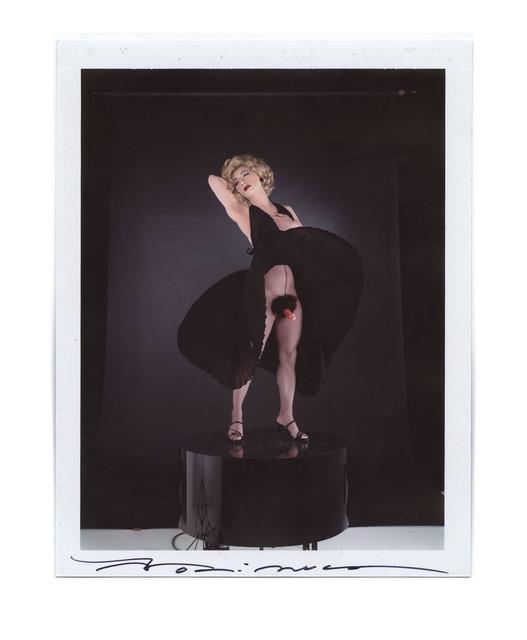 Yasumasa Morimura, 'Black Marilyn', 1995, Photography, Instant Color Film, unique piece - Framed,price ex vat, Alex Daniels - Reflex Amsterdam
