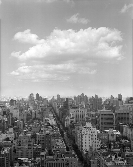 , 'Clouds #5, New York City,' 2014, Galerie Thomas Zander