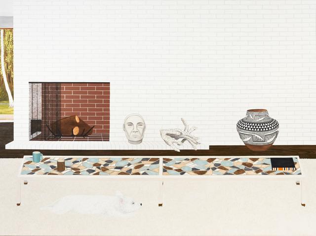 , 'Living Room (Yogi 2),' 2013, Fleisher/Ollman