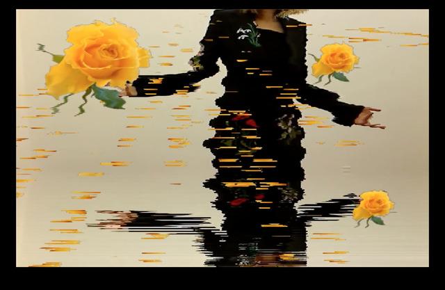 , 'yellow_rose,' 2016, UTA Artist Space