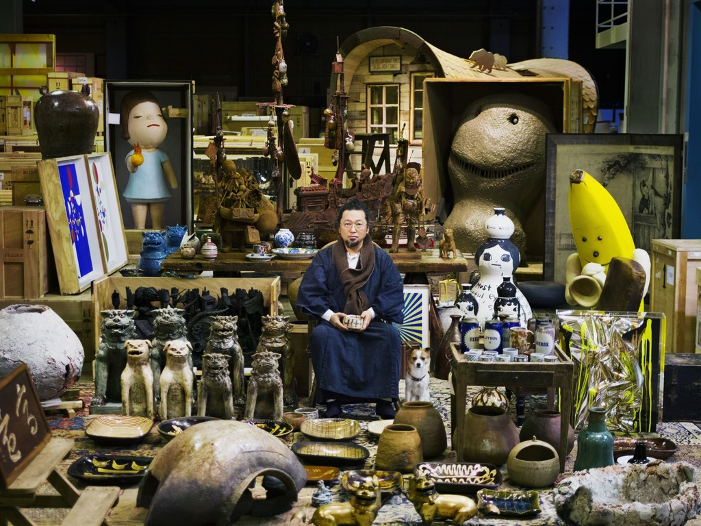Takashi Murakami and his Superflat Collection