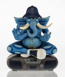Ganesh (Blue)