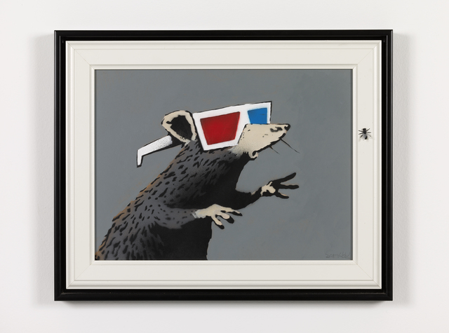 , 'Rat [with 3D glasses],' 2010, Andipa