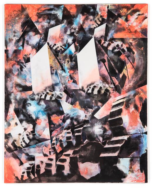 , 'Untitled (Crashing Drone, Collapsing Columns),' 2018, Hemphill Fine Arts