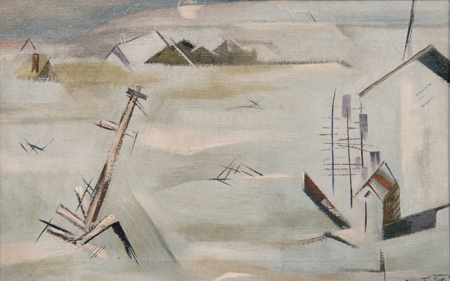 , 'Flood (Fort Worth),' 1949, Fort Worth Contemporary Arts