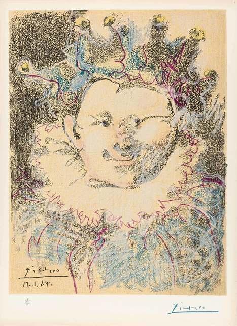 After Pablo Picasso, 'TÊTE DE BOUFFON', 1964, Doyle
