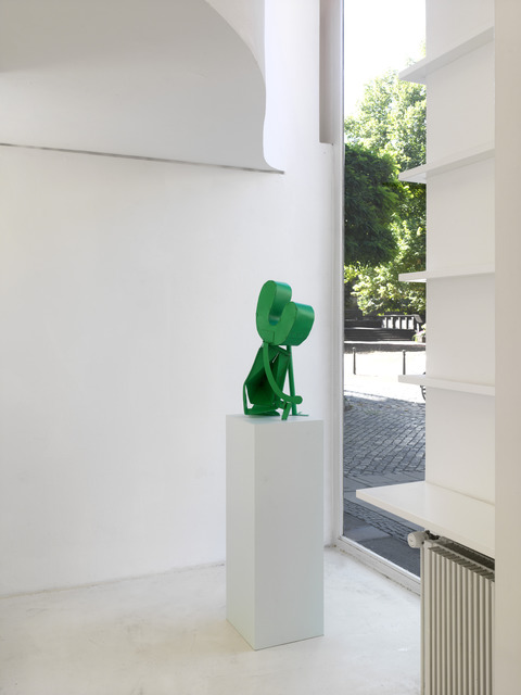 , 'Ohne Titel (kleine Blaugrüne),' 2013, Sies + Höke