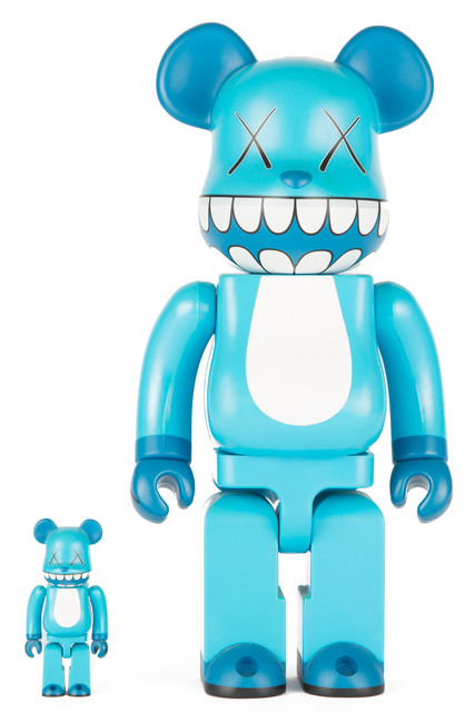 KAWS, 'CHOMPERS BE@RBRICK 400% AND 100% (SET OF TWO)', 2003, Marcel Katz Art