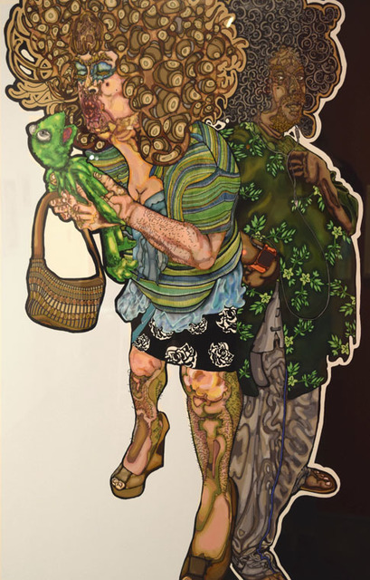 , 'Me, My Parents, and I,' 2015, Fountain House Gallery