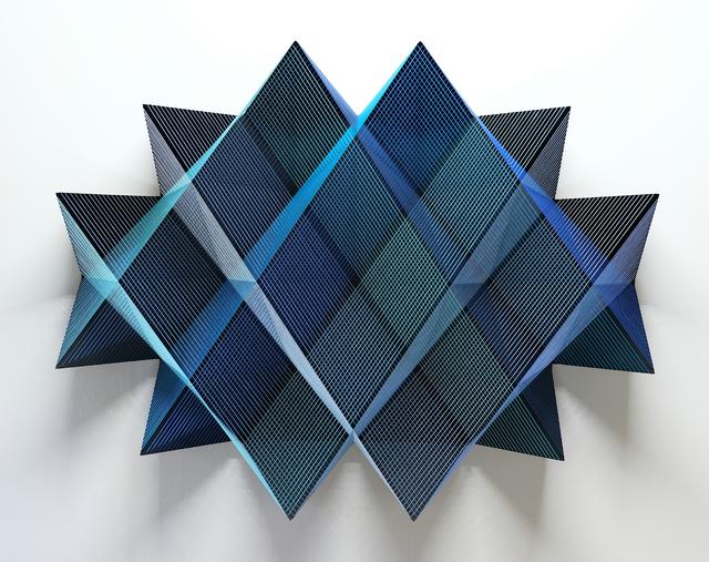 Manuel Knapp, 'Blue', 2019, Jim Kempner Fine Art