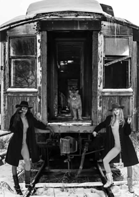 David Yarrow, 'Let's Catch the Last Train Home', 2017, Isabella Garrucho Fine Art