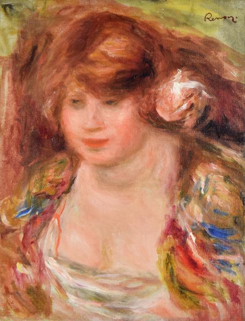 , 'Femme à la Rose, Andrée,' , Stern Pissarro
