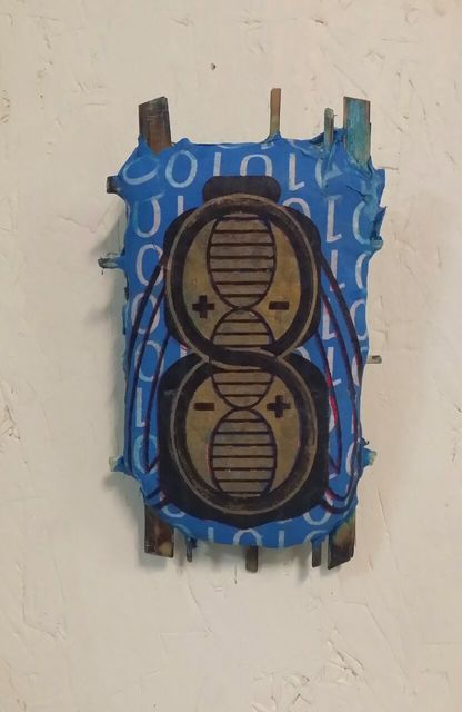 Matt Bagley, 'CyBorg Fesh 'Bug Logo'', 2017, Ro2 Art