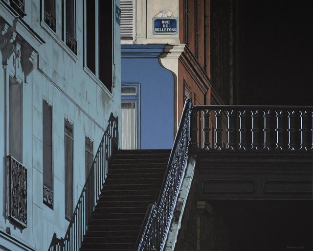 , 'La nuit américaine 2,' 2018, Galerie Ulrich Gering