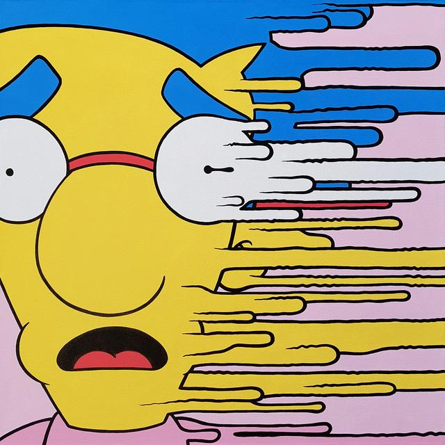 , 'Mil-Whoosh!,' 2018, Galerie LeRoyer