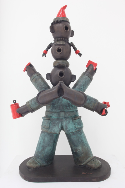 , '三头六臂; Multitalented Boy,' 2008, Linda Gallery