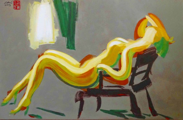 , 'Reclining Nude,' 2016, Florida Fine Art