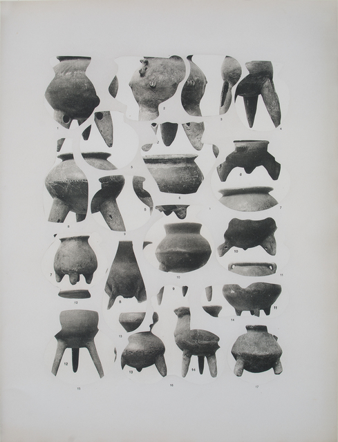 , 'Geodesia y antropometria (vasijas),' 2016, CarrerasMugica