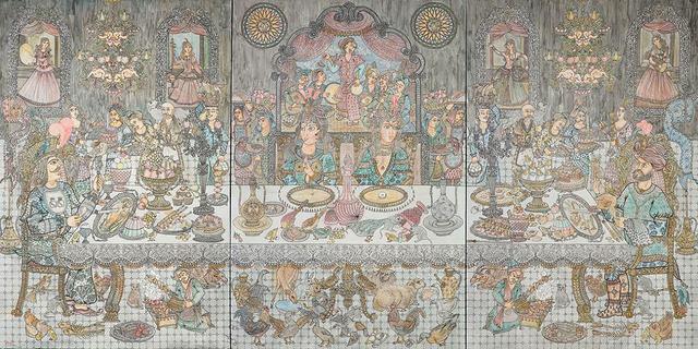 , 'Dinner,' 2014, Shirin Gallery