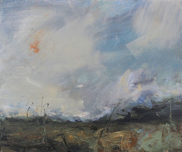 , 'Weather coming in, Shetland,' 2018, Cadogan Contemporary