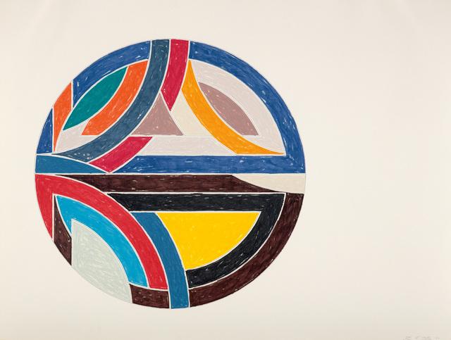 Frank Stella, 'Sinjerli Variation III, from Sinjerli Variations', 1977, Phillips