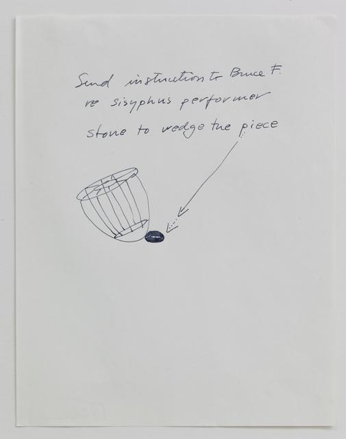 , 'Sisyphus,' 1990, Barbara Gross