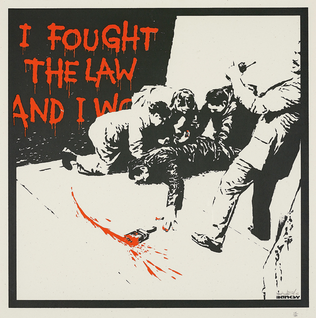 Banksy, 'I Fought the Law', 2005, Phillips