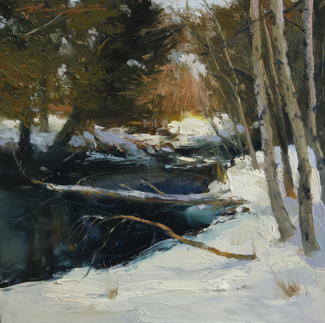 , 'June Lake Snow,' 2017, Abend Gallery