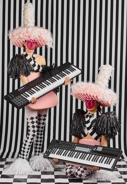 , 'Las Chicas del Piano II,' 2018, Licenciado