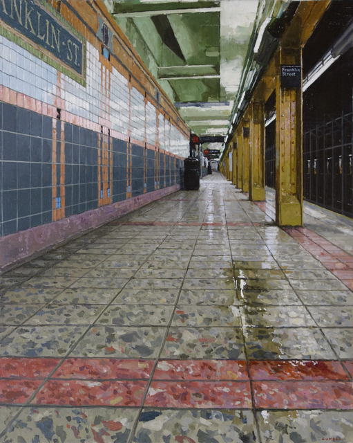 , 'Downtown Platform Franklin St. Subway,' 2018, Gallery Henoch