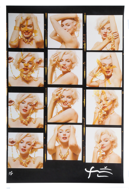 Bert Stern, 'Marilyn Monroe with jewels [Contact Sheet] from The Last Sitting for Vogue , 1962', 2009, RoGallery