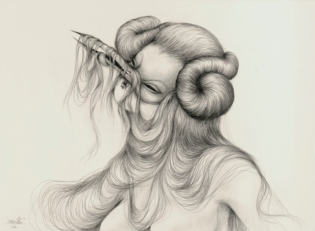 , 'Hungry Hair 2,' 2014, Isabel Croxatto Galería