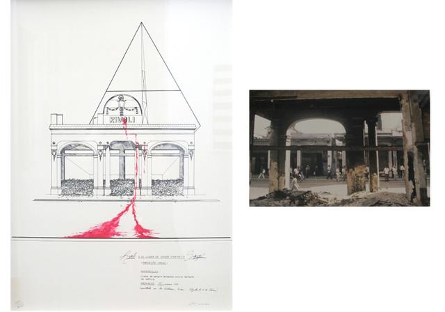 Carlos Garaicoa, 'Rivoli, O el lugar de donde emana la sangre (Rivoli or The Place Where Blood Flows)', 1993, PDNB Gallery
