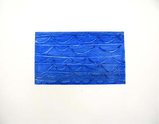 , 'Blue Alert,' 2009, Newzones
