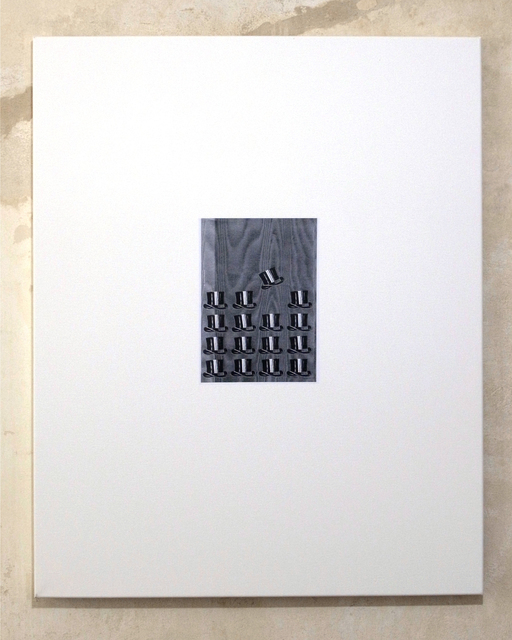 , 'Untitled (Chapeau bas, back #1),' 2012, Clages