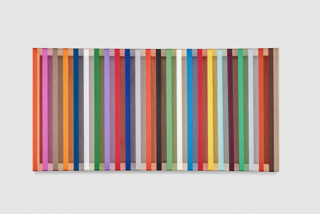 , 'Untitled (Multi-colored),' 2017, PRAZ-DELAVALLADE