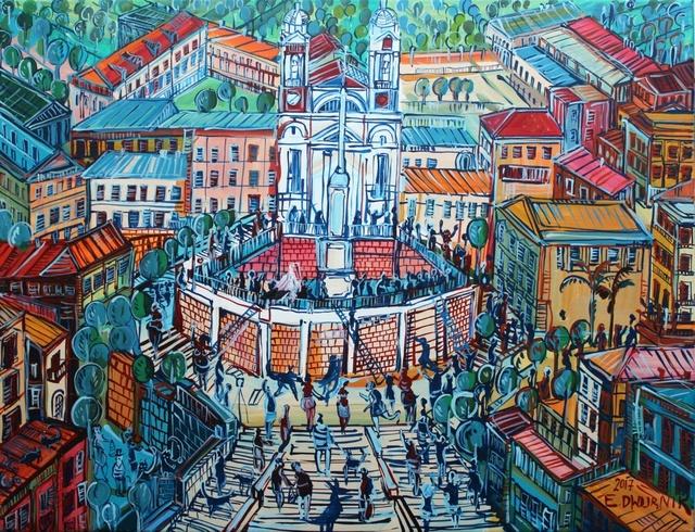 , 'The Spanish Stairs in Rome,' 2017, Gallery Katarzyna Napiorkowska | Warsaw & Brussels