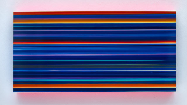 , 'Technicolor Panorama Bluepoint,' 2016, Lange + Pult
