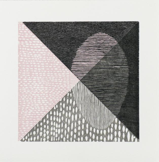 Luca Cruzat, 'A Travers ', 2013, Print, Woodcut on arches paper, Karin Weber Gallery
