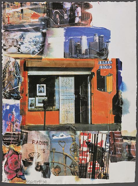 Robert Rauschenberg, 'L.A. Uncovered #12', 1998, Print, Screenprint in colors, Upsilon Gallery